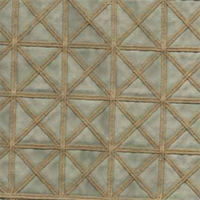 02095 Azure Crewel Drapery Fabric by Trend