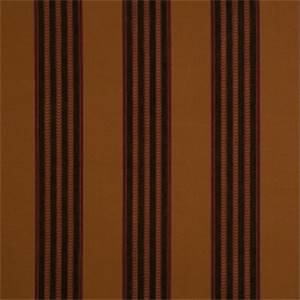 Caramel Striped Fabric by Jaclyn Smith 01843