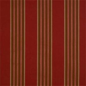 Crimson Striped Fabric by Jaclyn Smith 01843