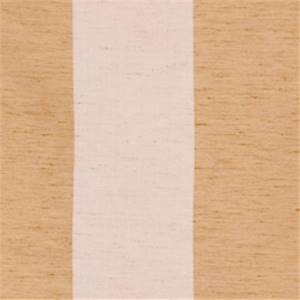 Biscuit Striped Drapery Fabric by Trend 01239