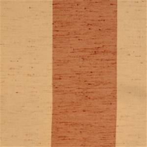 Terra Cotta Striped Drapery Fabric by Trend 01239