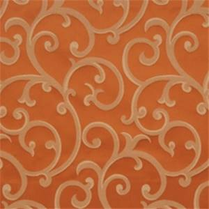 Spice Scrollwork Drapery Fabric by Trend 01688