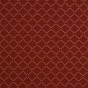 Crimson Diamond Drapery Fabric by Jaclyn Smith 01844