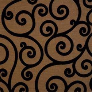 Jet Lattice Drapery Fabric by Jaclyn Smith 01845