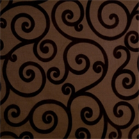 Pecan Lattice Drapery Fabric by Jaclyn Smith 01845