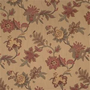 Sangria Floral Drapery Fabric by Jaclyn Smith 01846