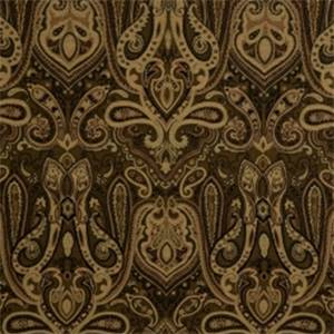 Jet Paisley Drapery Fabric by Jaclyn Smith 01848
