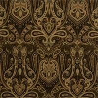 Jet Paisley Drapery Fabric by Jaclyn Smith 01848