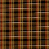 Caramel Plaid Drapery Fabric by Jaclyn Smith 01849