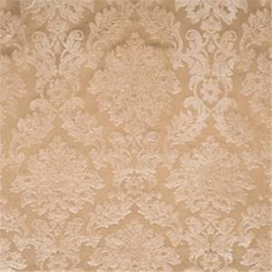 Chamois Damask Drapery Fabric by Jaclyn Smith 01850