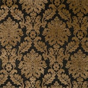 Jet Damask Drapery Fabric by Jaclyn Smith 01850