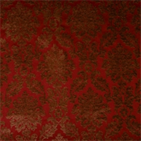 Sangria Damask Drapery fabric by Jaclyn Smith 01850