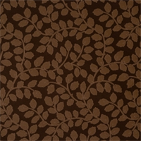 Pecan Floral Drapery Fabric by Jaclyn Smith 01851
