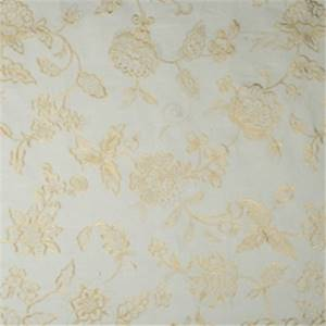 Spa Embroidered Floral Drapery Fabric by Jaclyn Smith 01852
