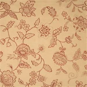 Tabasco Embroidered Floral Drapery Fabric by Jaclyn Smith 01852