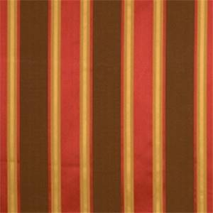Coffee Striped Drapery Fabric by Jaclyn Smith 01858