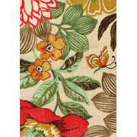 Joonas Cliffside Summer Floral Drapery Fabric by Swavelle Mill Creek
