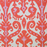 Marrakesh Firefly Ikat Drapery Fabric
