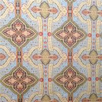 Baku Multi Chenille Vintage Upholstery Fabric