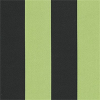 Deck Stripe - Black/Lime Indoor/Outdoor Fabric 30 yard bolt