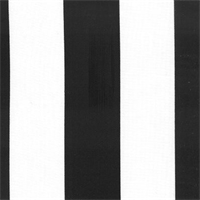 Deck Stripe - Black Indoor/Outdoor Fabric 30 yard bolt
