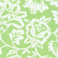 Flower Show - Lime Indoor/Outdoor Fabric 30 yard bolt