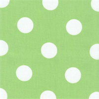 Polka Dot - Lime Indoor/Outdoor Fabric 30 yard bolt