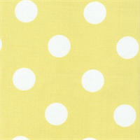 Polka Dot - Yellow Indoor/Outdoor Fabric 30 yard bolt