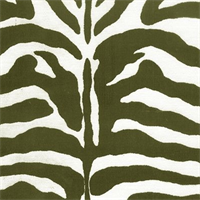 Zebra - Black and Off White Indoor/Outdoor Fabric