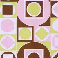 Maxfield Pink Contemporary Printed Drapery Fabric