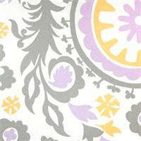 Suzani Wisteria by Premier Prints - Drapery Fabric