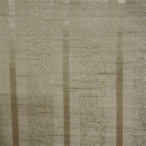 Vale Champagne Stripe Faux Silk Drapery Fabric