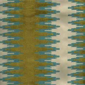 Konya Blue/Green Chenille Upholstery Fabric
