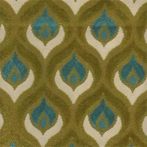 Grenoble Blue Green Chenille Upholstery Fabric 24681 Buyfabrics Com