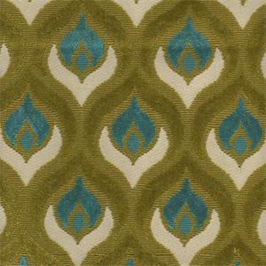 Grenoble BlueGreen Chenille Upholstery Fabric - Chenille upholstery fabric