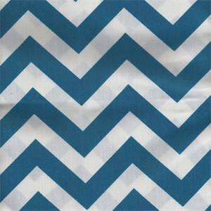 Zig Zag Blue Moon Outdoor Premier Prints Fabric