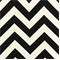 Zig Zag Ebony Outdoor by Premier Prints - Drapery Fabric