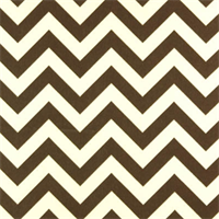 Zig Zag Safari Brown Outdoor by Premier Prints - Drapery Fabric