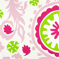 Suzani Maggie/Candy Pink by Premier Prints - Drapery Fabric