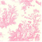 Jamestown Toile Baby Pink by Premier Prints - Drapery Fabric