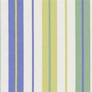 Penny Stripe Periwinkle Drapery Fabric