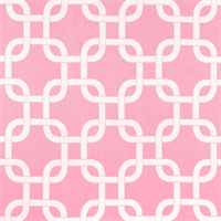 Gotcha Baby Pink/White by Premier Prints - Drapery Fabric