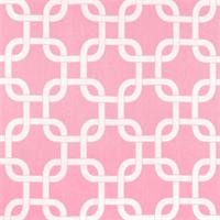 Gotcha Baby Pink/White by Premier Prints - Drapery Fabric