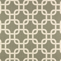 Gotcha Summerland/Grey Natural by Premier Prints - Drapery Fabric