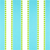 Lulu Girly Blue/Charteuse Twill by Premier Prints - Drapery Fabric