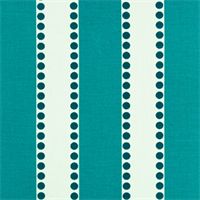 Lulu True Turquoise by Premier Prints - Drapery Fabric