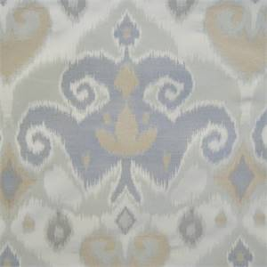Fiorella Sage Ikat Drapery Fabric