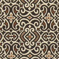 New Damask Terrain Contemporary Drapery Fabric by DwellStudio for Robert Allen
