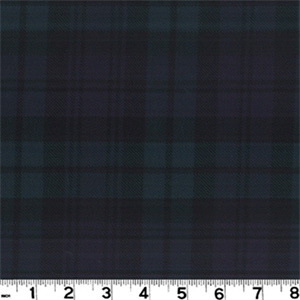 Tar 130 Blackwatch Plaid Drapery Fabric By Roth And