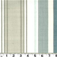 D2959 Bridgewater Spa Stripe Drapery Fabric by Roth and Tompkins